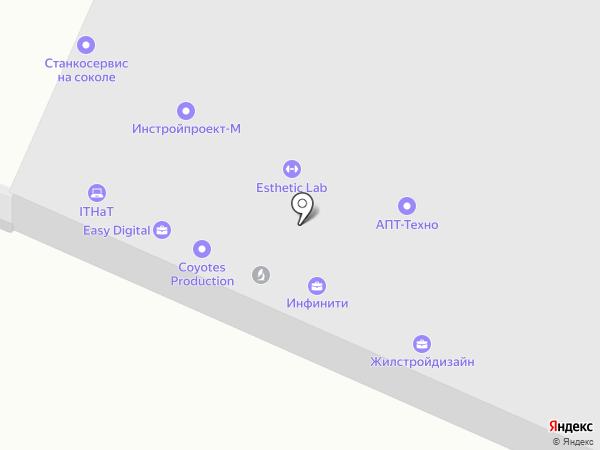 АРСТ, ЗАО на карте Москвы
