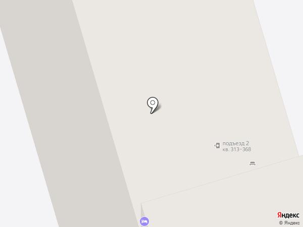 Общежитие на карте Долгопрудного