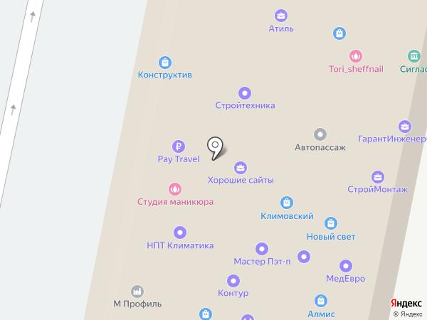 Росгосстрах банк, ПАО на карте Подольска