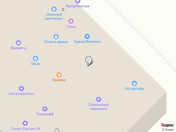 ВКР-мебель на карте Москвы