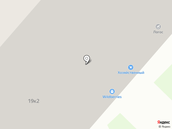 СтройИмпекс на карте Долгопрудного