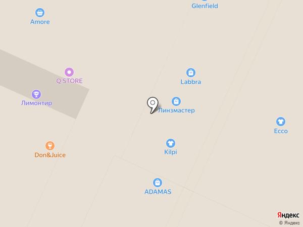Ювелирцентр на карте Москвы