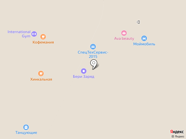 Кофемания на карте Москвы