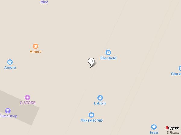 Линзмастер на карте Москвы