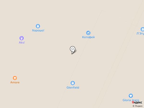 GLENFIELD на карте Москвы
