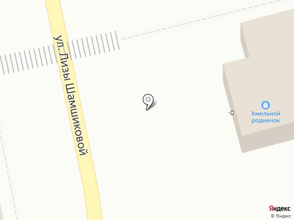 Служба ритуальных услуг на карте Щёкино