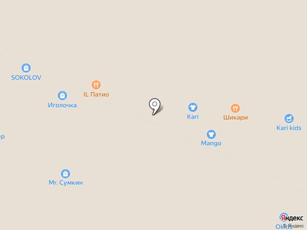 kari на карте Москвы