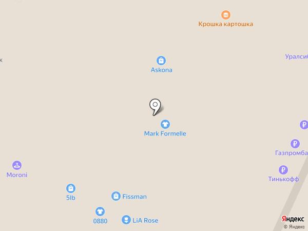 Банкомат, Банк Уралсиб, ПАО на карте Москвы