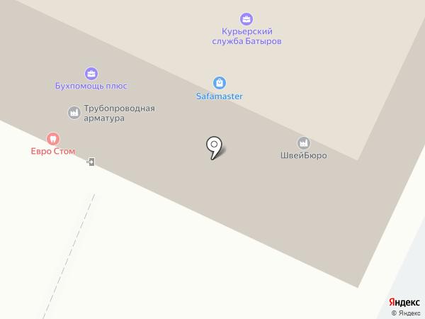 ВТачку на карте Москвы