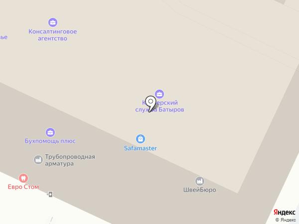 Евро Стом на карте Москвы