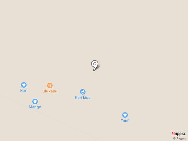kari KIDS на карте Москвы