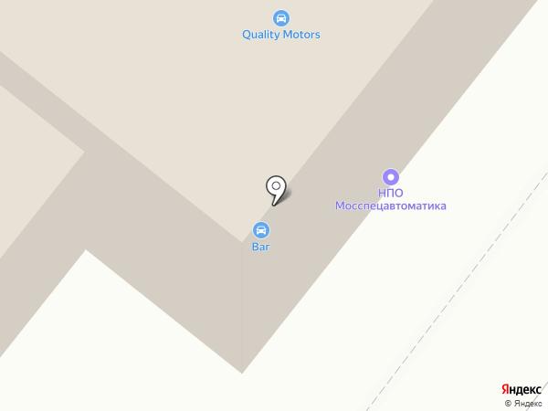 Мосспецавтоматика на карте Москвы