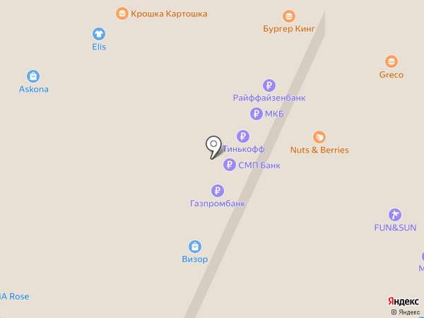 Piccolo на карте Москвы