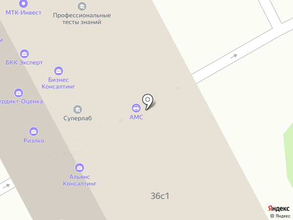 ТСМ на карте Москвы