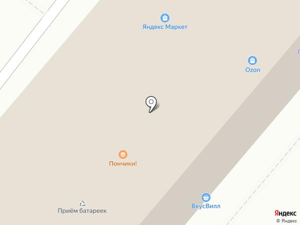 Этна на карте Москвы