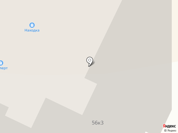 Свое место на карте Долгопрудного