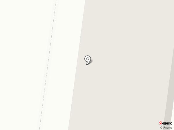 Силуэт на карте Подольска