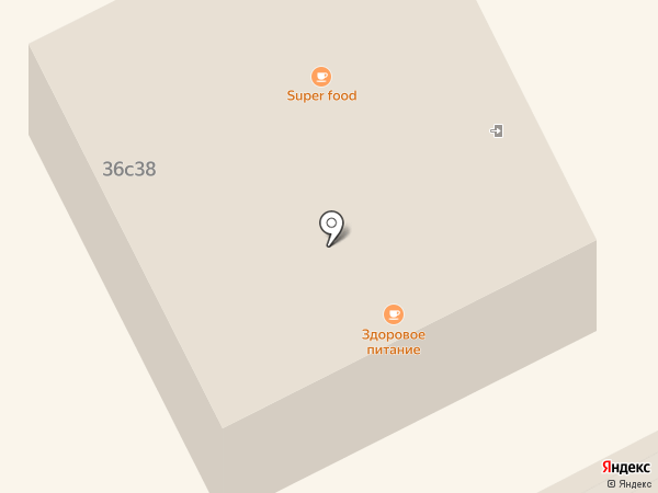 Атлант на карте Москвы
