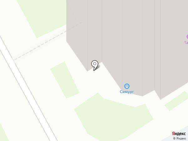 СИМУРГ на карте Долгопрудного