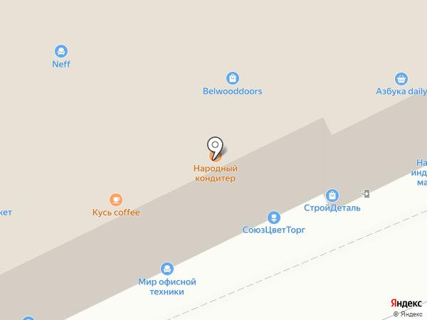 Кухни LAB на карте Москвы