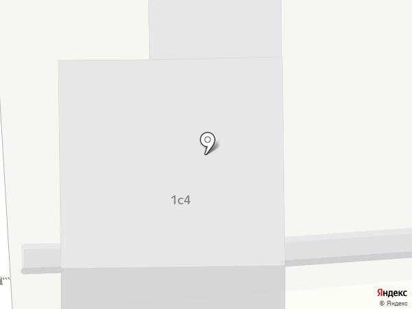 Звезда на карте Москвы