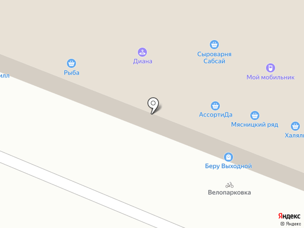 Океан на карте Москвы