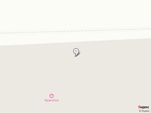 Красотка на карте Подольска