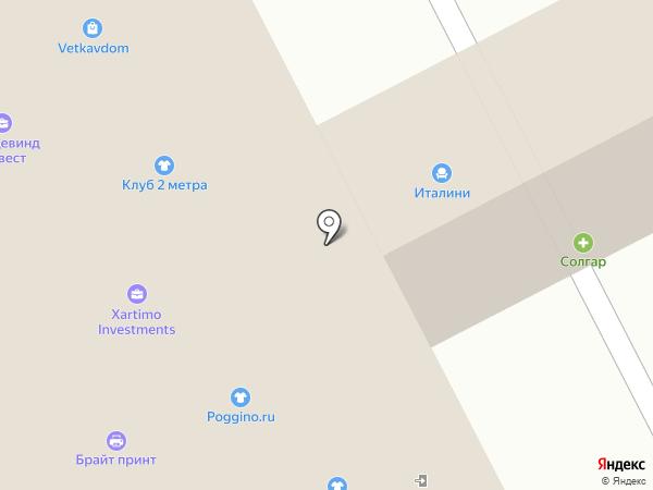 Евроэксперт на карте Москвы