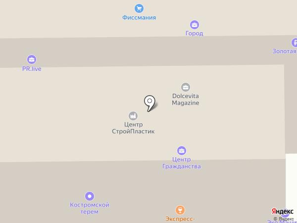 ИнжГеоСтрой на карте Москвы