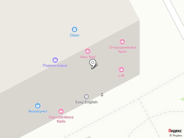 Городской родник на карте Подольска