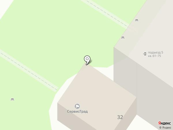 СервисГрад на карте Долгопрудного