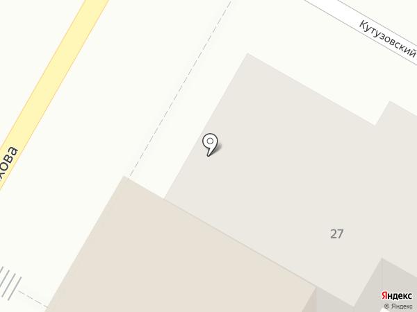 Горизонт на карте Подольска
