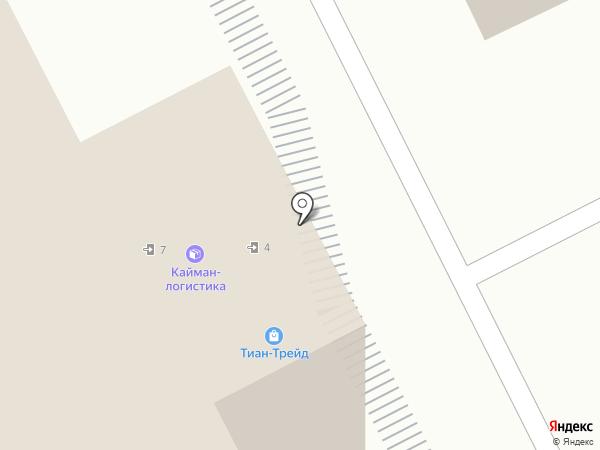 Лапауза на карте Москвы