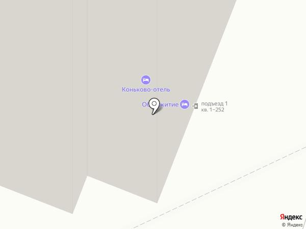 Магазин бытовой химии на карте Москвы