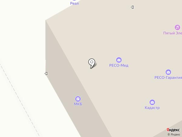 Банкомат, Московский кредитный банк, ПАО на карте Подольска