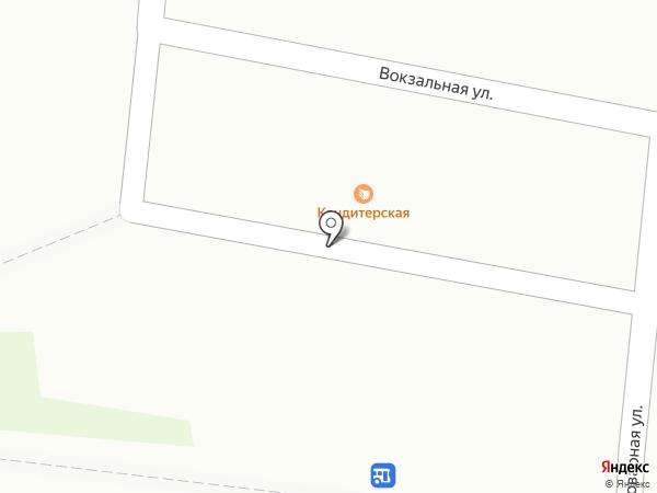 Магазин кондитерских изделий на карте Подольска