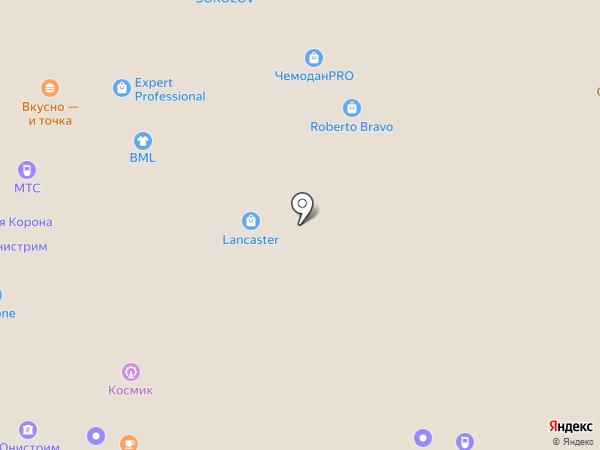 Пончик на карте Москвы