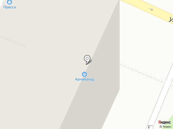 Понарошку на карте Москвы