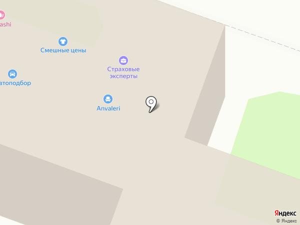 Букетный двор на карте Москвы