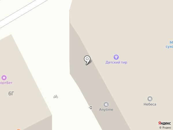 Торгово-офисный центр на карте Подольска