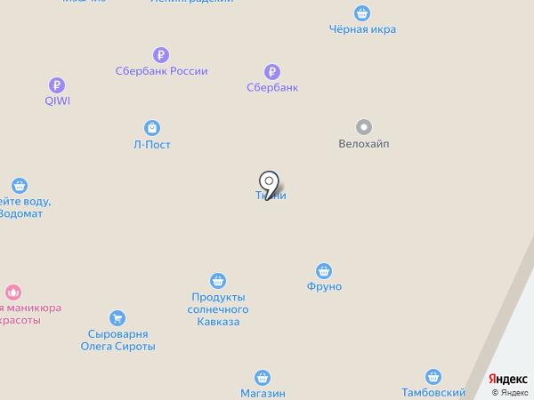 Каравай СВ на карте Москвы