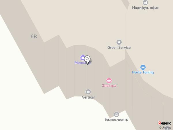 Белые Паруса на карте Подольска