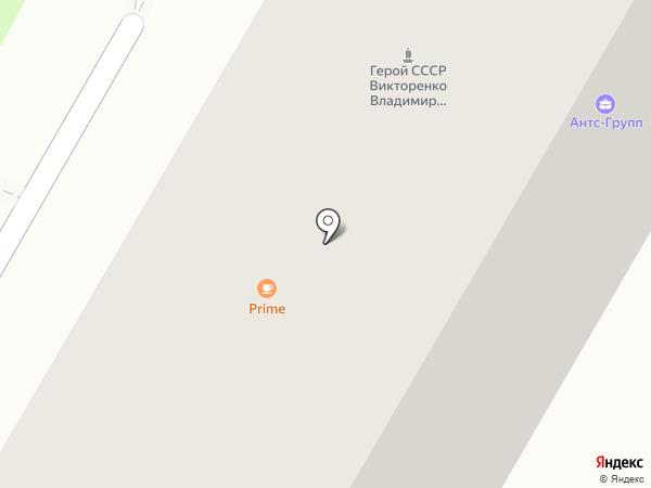 Мрамберг на карте Москвы