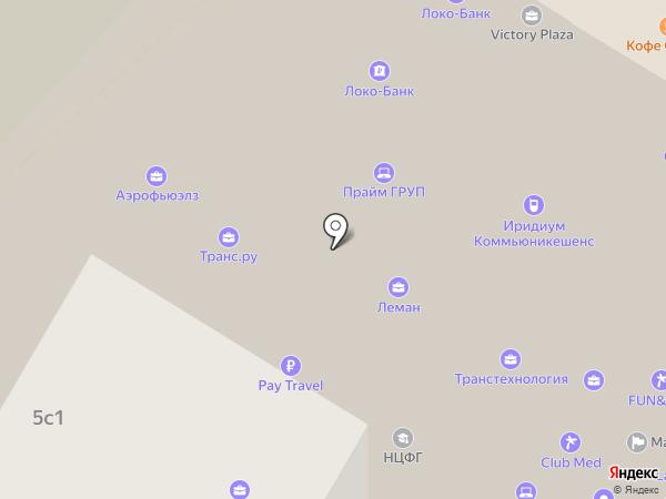 Аэрофьюэлз Групп на карте Москвы