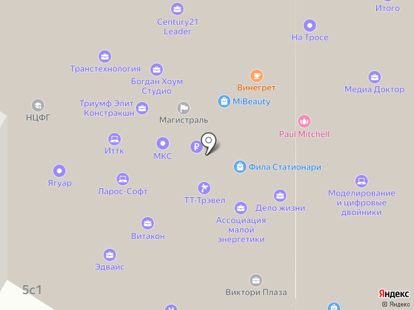 Victory Plaza на карте Москвы