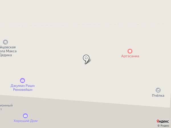 Вебферма на карте Москвы