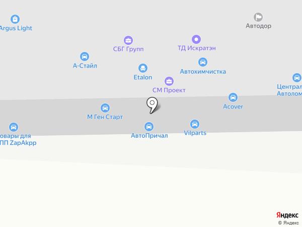 СВЕРХНОВАЯ на карте Москвы