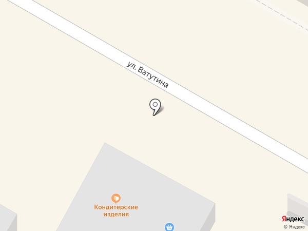 Магазин мясной продукции на карте Подольска