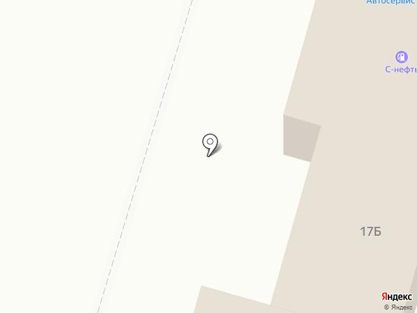 АЗС на карте Первомайского