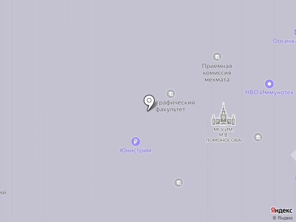 Ником-сервис на карте Москвы